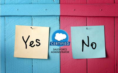 Is a Salesforce Admin Certification validation that you can make SFDC Dance?